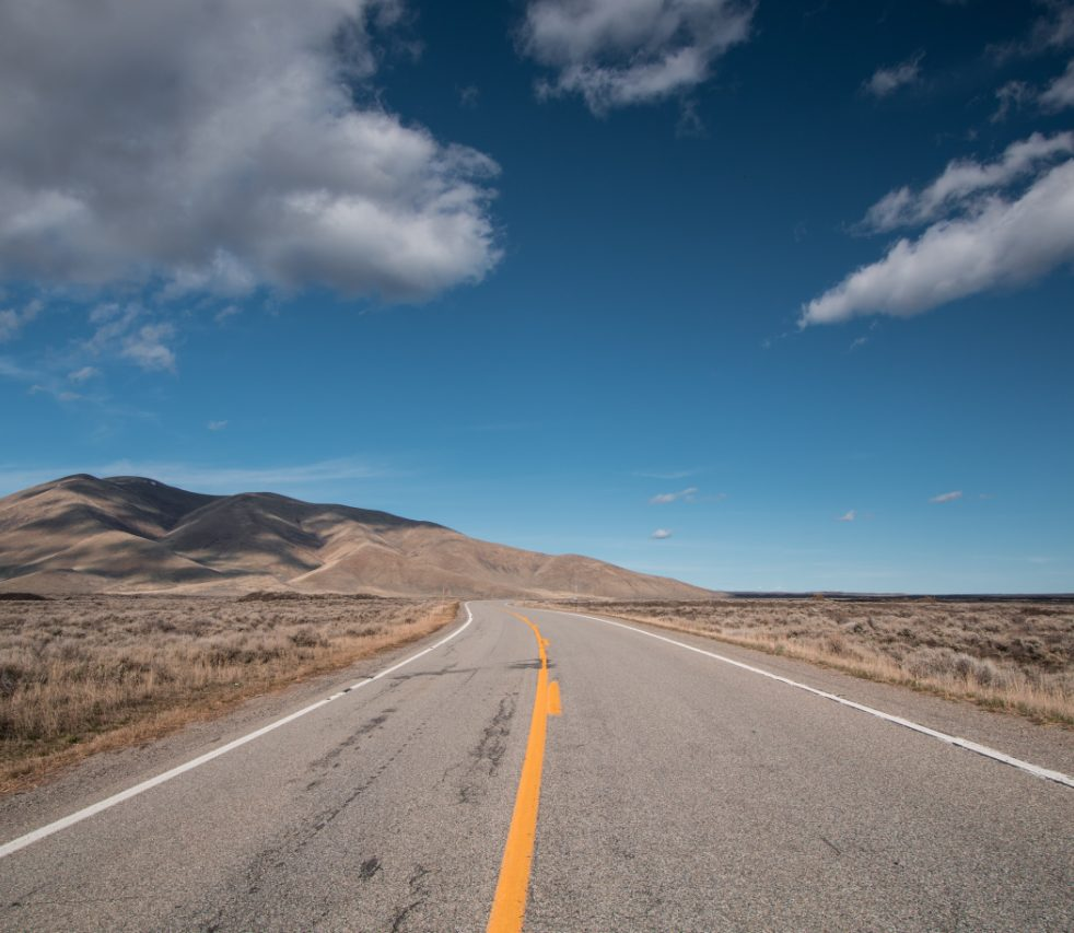 picture of a highway in Nampa, Idaho